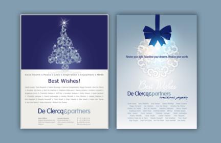De Clercq & Partners nieuwjaarsmailing